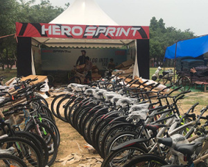 Hero Cycles – IIT College Fest