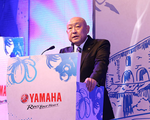 Yamaha Saluto Launch