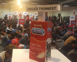 Durex Roadies Activation